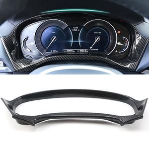 BMW X3 G01 X4 G02 2018 2019 2020 자동차 액세서리 대시 보드 속도계 패널 커버 프레임 스티커 트림 인테리어