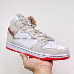 Top Quality Dunk SB High Team Crimson Men Women Basketball Shoes Skunks 420 Spectrum CW9971 500 Sports Running Sneakers 5.5-11