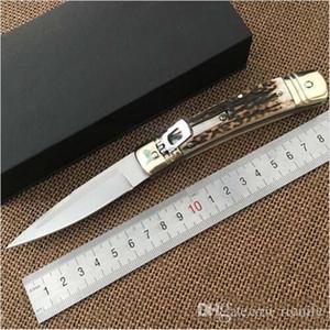 Italie AC-K italienne horizontale COUTEAUX 7,7 pouces D2 Outil Outils Lame en acier Hubertus Jardin couteau de survie tactique BM940 C81 810 Couteaux cadeaux