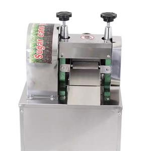 2020 Ticari dikey tablo şeker kamışı sıkacağı makinası paslanmaz çelik otomatik elektrikli ticari şeker kamışı makinesi