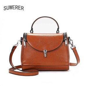 New Women Leather Handbags luxury handbags women bags designer cowhide leather shoulder bag crossbody bags for