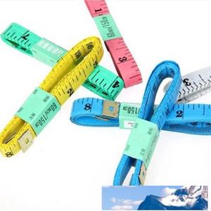 Tape Measure 60 İnç Vücut Bant Of 150cm 2015 PVC Malzeme Dikiş Makinesi Vücut Ölçüm Teyp Kumaş Dikiş Cetvel Ve Terzi