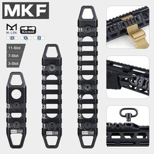 MGP CQB السكك الحديدية المعدنية KEYMOD MLOK MI Handguard Slight SLR 416