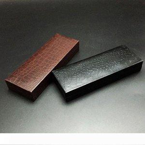High-grade Crocodile Grain PU Leather Pen Gift Box Fountain Pen Cases Cover Pen Package Box wen5877
