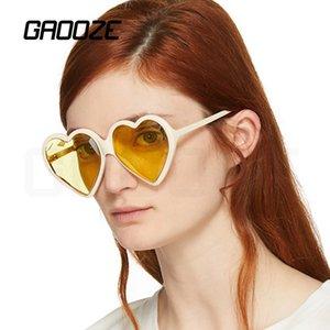 GAOOZE Oversized Sunglasses Coração Marca de Mulheres Reading Glasses Red Óculos Mulheres Coração Sunglasses Mulheres UV400 Projeto LXD427