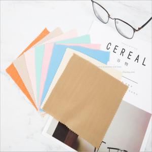 matériau épais 2019 mode 14 * 15 tissu de fibres fines clothglasses lunettes lentille de velours clothsingle face essuyage chiffon