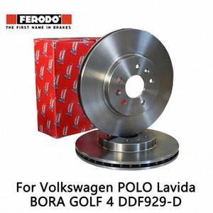 2pieces / set Ferodo coche freno de disco delantero para Polo 1.4 1.6 BORA GOLF 4 DDF929-D Sp9k #