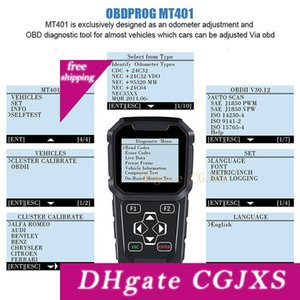 Obdprog Mt401 OBD2 자동 마일리지 보정 주행 조정 마일리지 프로그래머 자동차 스캐너 OBD 2 자동차 진단 도구