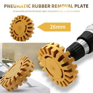 Shank Rubber Eraser Wheel Polishing Wheel Decal Remover Quick Polishing Removal Tool For Car Stickers And Decals Car Decal