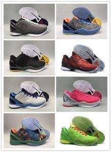KB6 Black Mamba 6 Protro düşünün Pembe Teyzem Gri Mavi Grinch Yeşil BHM Paskalya Erken 2021 6 Protro Grinch basketbol ayakkabıları serbest bırakılması olduğunu