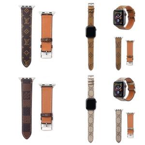 Diseñador de banda de reloj para Apple PU del reloj del cuero de 38 mm 40 mm 42 mm 44 mm ajustable diseñador de la correa de reloj de iWatch