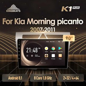 KingBeats Android 8.1 Octa Çekirdekli kafa ünitesi 4G Dash Araç Radyo Multimedia Video Player Navigasyon GPS For Kia Morning 2007 Picanto - araba dvd