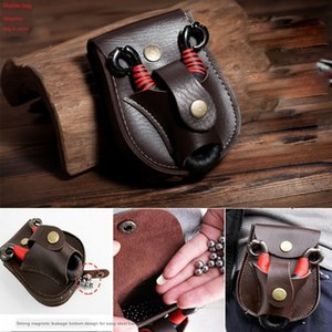 Outdoor spring steel ball brown black leather durable non-deformation Shoe shoe steel ball bag spring running bag