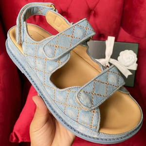 Chegada Nova Super quentes novas sandálias, sandálias de luxo, sandálias de grife, as mulheres do desenhador sandália, Velcro sandália plana