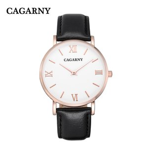 CAGARNY Brand Men Quartz Watches Stainless Steel Watchband Dual Time Zones Military Wrist Watches Casual Reloj Hombre PENGNATATE