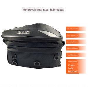 backseat bag Luggage motorcycle riding waterproof Knight backpack motorcycle racing helmet backpack riding trunk bag