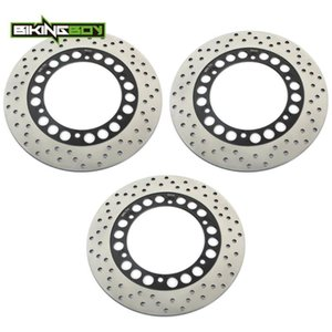BIKINGBOY Front Rear Brake Discs Disks Rotors RD 350 LC   R XJ600 83-91 XJ 900 F 83-86 FZ GENESIS FZX FAZER 750 XP 500 T MAX