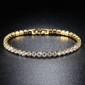 Women's Fashion CZ Bracelet Gold Silver Color Chain Girl Mood Bracelet Wild Personal Women Accessories Girlfriend Gift