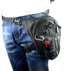 Мотоцикл падения ног сумка водонепроницаемый нейлон Велоспорт Фанни пакеты Открытый Повседневная сумка талии пакет OEM Moto Rider Мото талии Карман