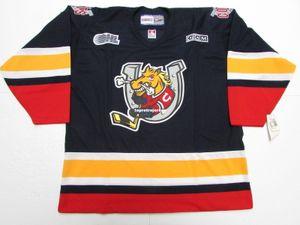 Pas cher sur mesure BARRIE COLTS OHL VINTAGE CCM HOCKEY JERSEY point ajouter un nombre tout nom Jersey Mens Hockey XS-6XL