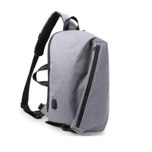 Leisure outside sports bag tide man chest bag single shoulder fashion bag