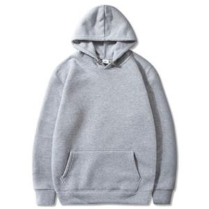 2020 mulheres Casual Mens Sweatshirt Long Sleeve Outono Primavera Hoodies Top Boy Blusa Tracksuits capuz Hoodies preto branco Hot Sale