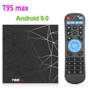 T95 макс Android 9.0 TV Box 4GB 32GB 2GB 16GB TV Box Allwinner H6 Quad Core Smart TV VS Q плюс