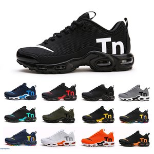tn plus se mens running shoes Hyper Blue Triple Black White Throwback Future mens chaussures trainer zapato Sports sneakers cheng