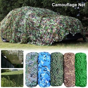 Camouflage Chasse net Camo Netting Formation Camo Netting 2x3 / 3x5m 4x6m voiture Abri Camping Sun Couvre Tente ombre xBd2 #