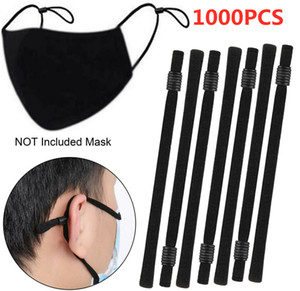 High-Elastic Band with Adjustable Buckle Elastic Rope Rubber Band Elastic Line DIY Sewing making mask Accessories Elastic hanging Ear Strap