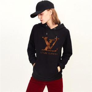 Fleece Casual Unisex Hoodies Sweatshirt Cool Hip Pop Pullover Hip Hop Punk Mens Sportwear Coat Jogger Tracksuit Fashion L̴V