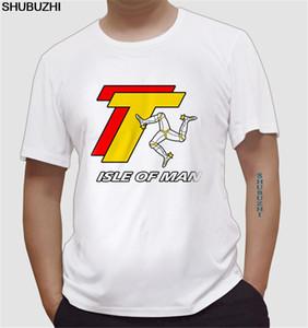 الصيف TT كأس السياحية - ISLE OF MAN طباعة قميص قصير الأكمام تي شيرت النكتة تي شيرت الهيب هوب مضحك حجم المحملات اليورو