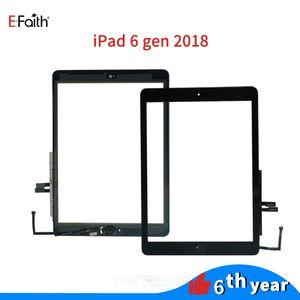 استبدال EFAITH لوحة اللمس لباد 6 2018 6 الجنرال A1893 A1954 الشاشات التي تعمل باللمس التحويل الرقمي أمام شاشات الكريستال السائل الزجاجي الخارجي مع لاصق