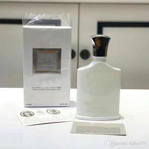 Los hombres del perfume de Colonia fresca y perfumes para hombre Premium Light Body Spray agua de la montaña de plata EDT 100ml envío
