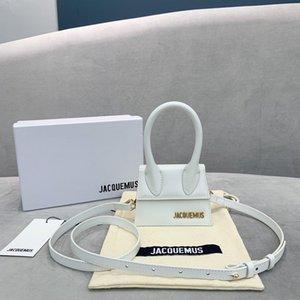 새로운 핸드백 Jacquemus 미니 아내와 딸이 좋아하는 선물 악어 패턴 어깨 메신저 여성 크로스 바디 백