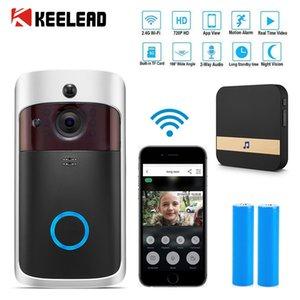 M3 Smart IP Video Intercom 2.4G WIFI Video Doorbell WIFI APP RC Doorbell Camera For Apartments IR Alarm Wireless Security Camera