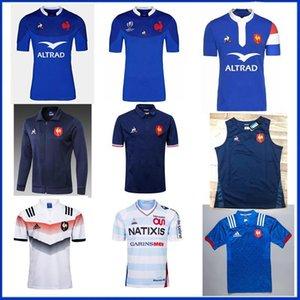 Высокое качество 2018 2019 Новой Франция Супер регби Джерси 18 19 Франция Рубашка регби Майо де французский регби Джерси