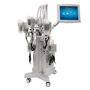 DHL TNT Free Shipping Luxury slimming cryolipolysis fat removal machine with vacuum cavitation liposuction