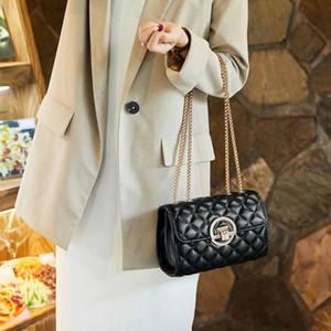 Les trois derniers dans un sac PVC sac à main de mode femme sac épaule taille haute qualité modèle 21/11/2 cm gaufrée sac 61276
