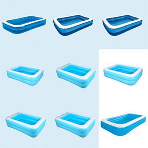 Piscina inflable Accesorios Las piscinas elevadas inflado patio inflable al aire libre Estanque Corte Swim C2 patio trasero 145jl Ducha