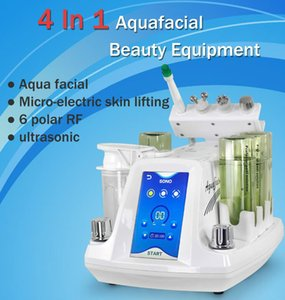 4 In 1 Hydra Dermabrasion Silk Peel Water Dermabrasion Diamond Microdermabrasion Machine With Automatic Protection System For Skin Care