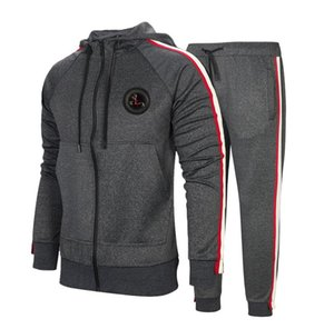 Tracksuit For Men 2 Pieces Set New Fashion Jacket Sportswear Men Tracksuit Hoodie Spring Autumn Clothes Hoodies+Pants