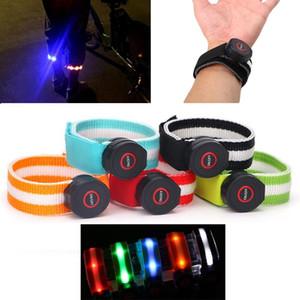 XANES Gece Spor Yansıtıcı LED Işık Kemer Kol bacak Bileklik Binme Yürüyüş Parlayan Bant Fener Meşalesi Lambası Spot Koşu