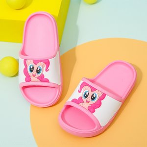 Xiaoma cute cartoon princess 2020 new girl sandals Sandals children's shoes children's shoes slip indoor slippers