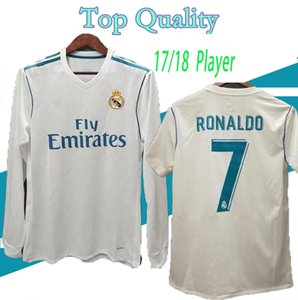 Player S-XXL 2017 2018 real madrid home soccer jersey 17 18 BALE BENZEMA MODRIC KROOS football shirt Vintage ISCO Maillot RONALDO Camiseta