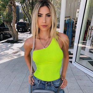 2020 European and American Hot Selling 2020 Spring and Summer Cross-Border Hot Selling New Womens Vest Candy-Colored Body Shaping Jumpsuit