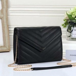 Best quality New Crossbody Metal Letter Front Designer Handbags Purses Women Meessnger Bag Pu Leather Shoulder Bags
