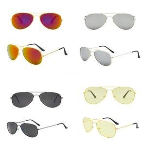 Dener Sunglasses Color Film grande frame Sapo Sunglasses homens e mulheres é metal óculos polarizados Sunglasse # 776