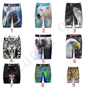 Ethika Mens boxer underwears Mens boxer quick dry Random styles sports hip hop excise underwear skateboard street Promotion fast wholesalen
