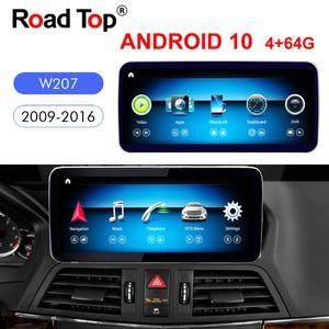 "10,25"" Qualcomm Android 10 для экрана Mercedes Benz E Coupe W207 2009-2016 автомобиля Радио GPS навигации Bluetooth WiFi автомагнитол"
